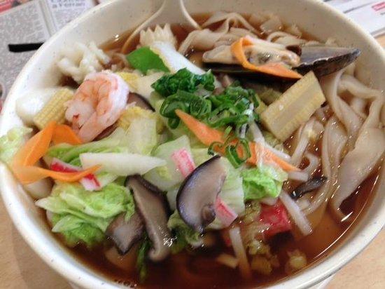 Chop Chop Noodle bar: Seafood Dish
