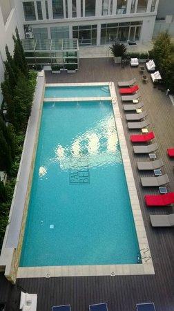 CasaSur Bellini Hotel: La vista desde la habitación. A la noche es fantástica.