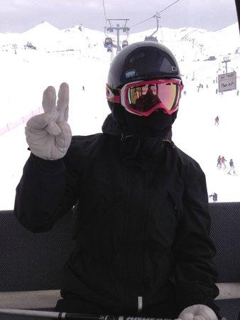 W Santiago: Close enough to ski!