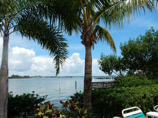 Tradewinds Beach Resort: Bay view at rear of hotel