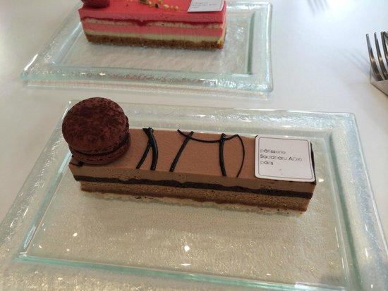 Patisserie Sadaharu Aoki Paris: Exemple chocolat
