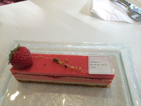 Patisserie Sadaharu Aoki Paris: Exemple fruit rouge