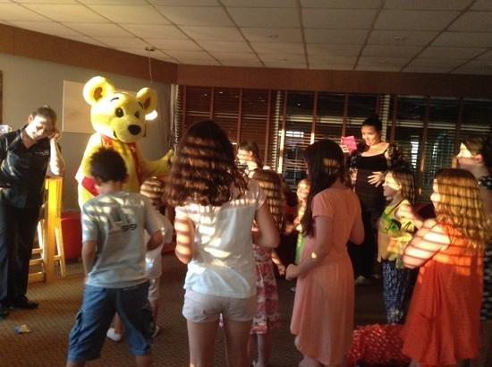 Unison Croyde Bay Holiday Resort: We love Brenny Bear !!