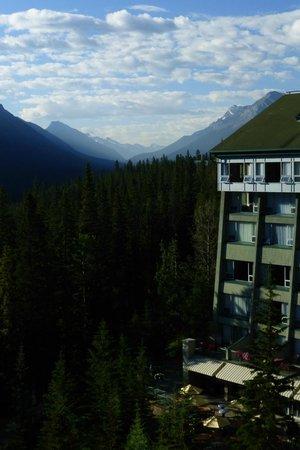 Rimrock Resort Hotel: View from room-morning