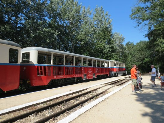 Kindereisenbahn, Budapest: children´s train