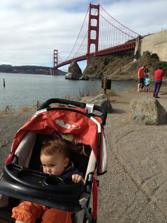 Cavallo Point: Walking by the Golden Gate Bridge