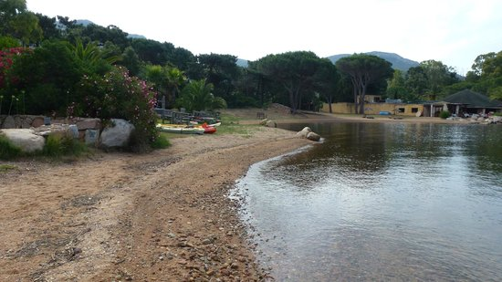 Maranatha Porto-Vecchio : La plage tranquille