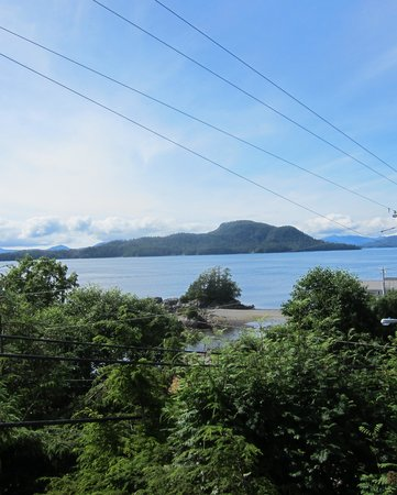 S.E. Alaska Outdoor Adventures: View from the Lodge Deck