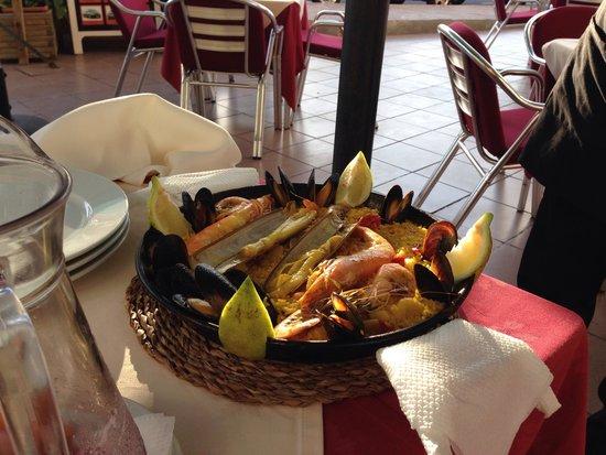 Los Arroces de Besay: Swissheavy - tasty Paella and outstanding service
