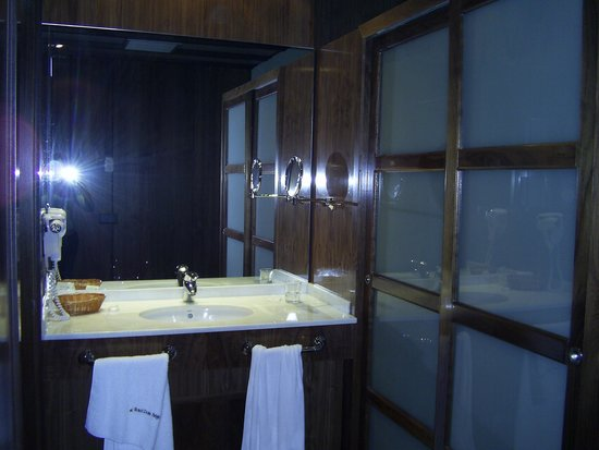 Hotel Dona Brigida: Baño