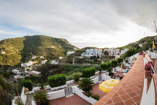 Villa Flavia: Panorama e terrazzi dal residence