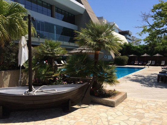 Amathus Beach Hotel Limassol : Quiet pool area