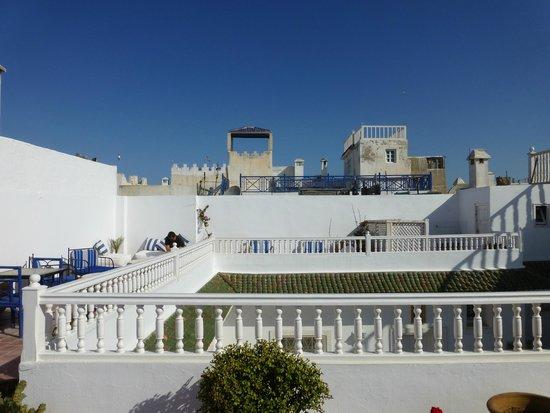 Dar Ness : Terrasse