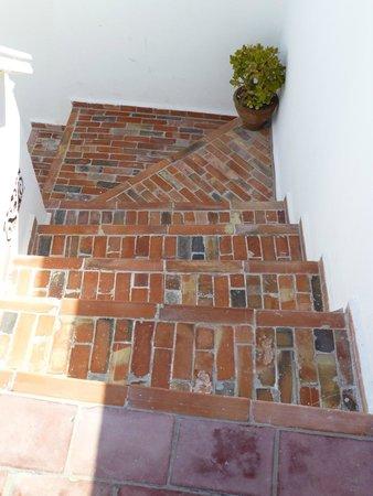 Dar Ness : Escaliers terrasse