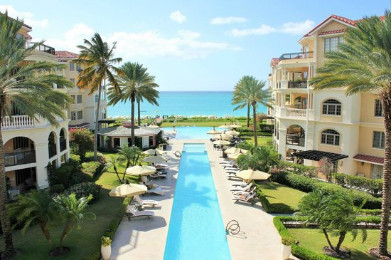 The Somerset on Grace Bay: our view from the huge balcony on room 303