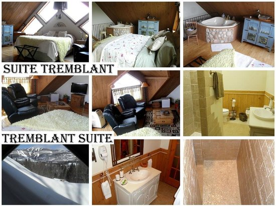 The Refuge - Rooms & Suites: Suite Tremblant