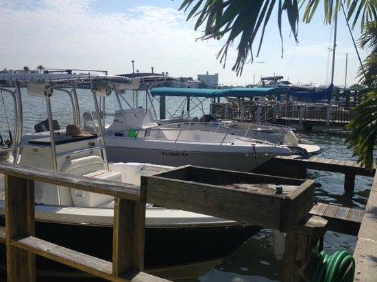 Sta N Pla Marina Resort: Marina