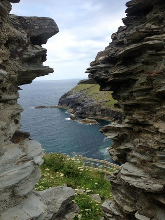 Tintagel Castle: the amazing view