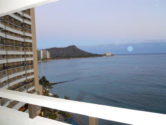 Sheraton Waikiki : Ocean view room