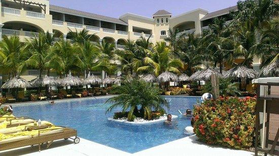 Iberostar Grand Hotel Rose Hall : Pool view...