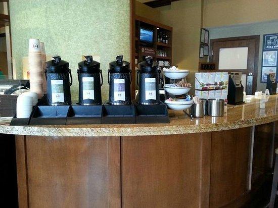 Hyatt Place Dublin/Pleasanton: Starbuck's (Complimentary coffee)