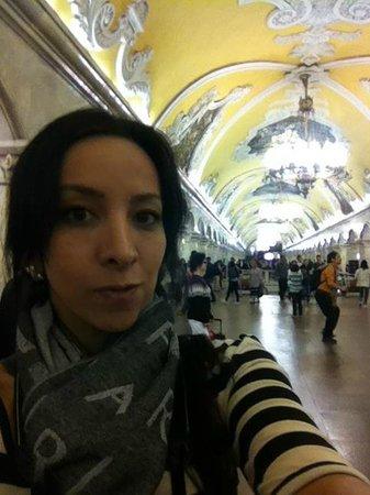 Metro Moskau: Komsomolskaya
