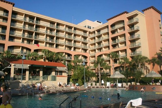 Sheraton Sand Key Resort: Main Building and Pool
