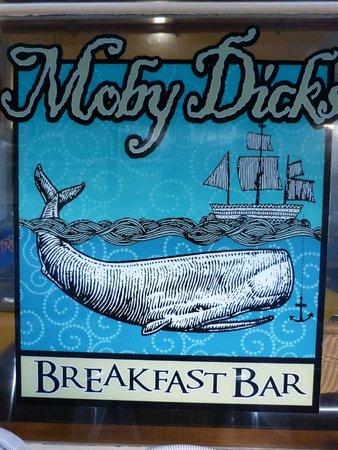 Moby Dicks Breakfast Bar : Great place for breakfast