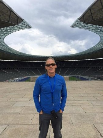 Olympiastadion Berlin: Feeling like an Olympian.