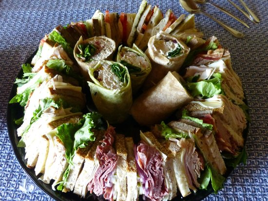 Good Life Market: Sandwich platter made to carry out for parties