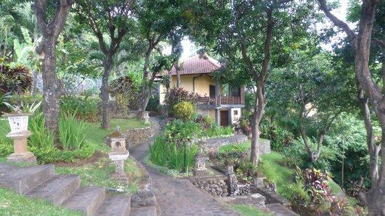 Puri Mangga Sea View Resort & Spa: Les allées de l'hôtel