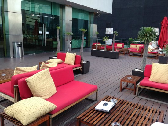 Mexico City Marriott Reforma Hotel: Roof lounge area