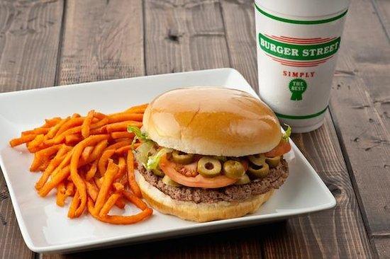 Burger Street : Olive Burger