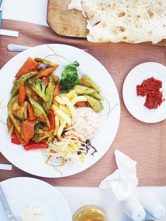 Melissa Garden Apart Otel: Vegan Curry