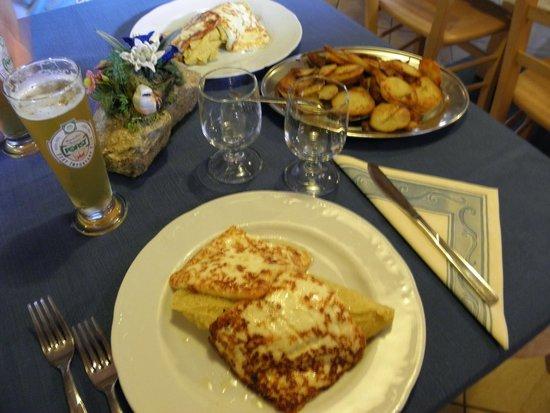Agritur Malga Lozen : polenta,tosela e patate arrostite!