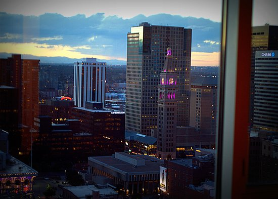 Hyatt Regency Denver At Colorado Convention Center: view from the window