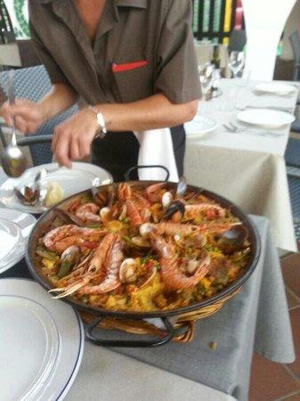 Meson Son Caliu: Paella di mare