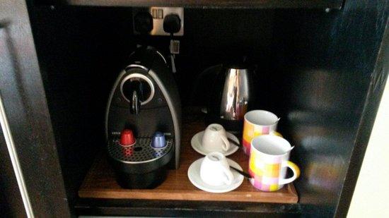 Hotel Indigo London Tower Hill: Top notch coffee too