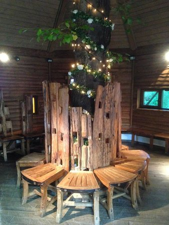 Superbe The Treehouse Restaurant At The Alnwick Garden: Quirky Furniture