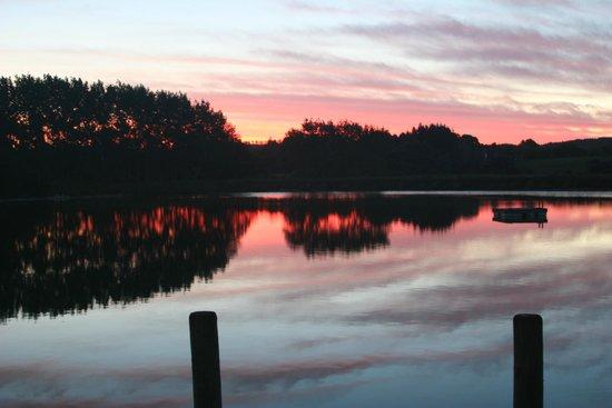 Boathouse Row: Sunset