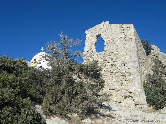 Monolithos Castle: Ruinas