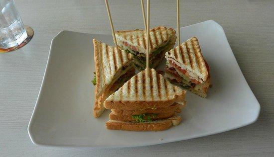 "Taste of Belgium Restaurant: ""Dagobert"" sandwich at Taste of Belgium."