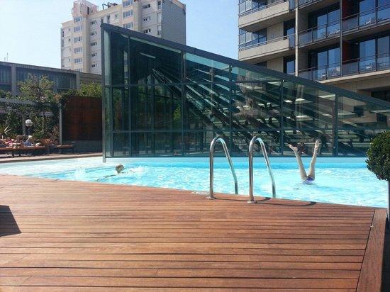 Pullman Barcelona Skipper: La piscine d'en bas !