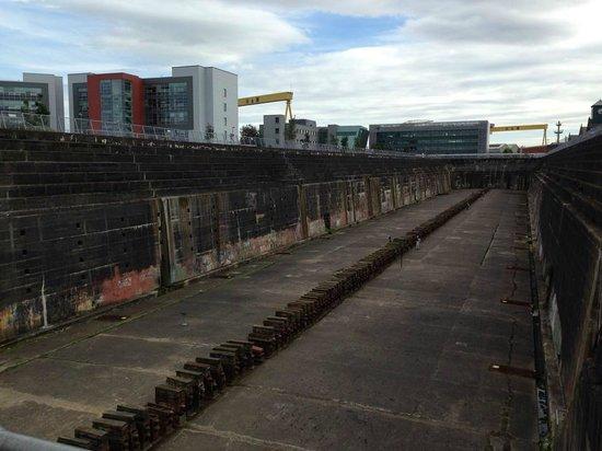Titanic's Dock and Pump-House: Thompson Dock