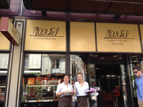 Tea-Room Martel: Entrance