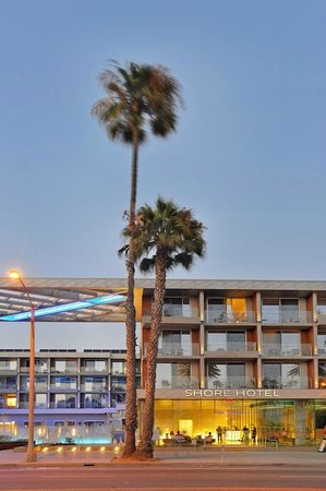 Shore Hotel from Ocean Avenue