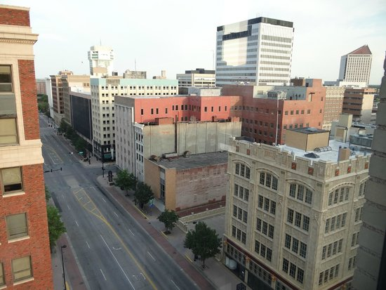 Ambassador Hotel Wichita, Autograph Collection: view from room, pretty at night!