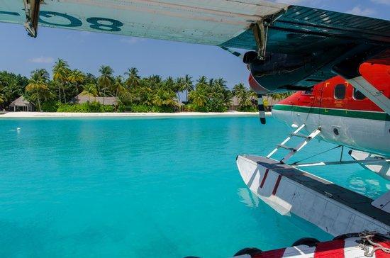 Veligandu Island Resort & Spa: Arrival!