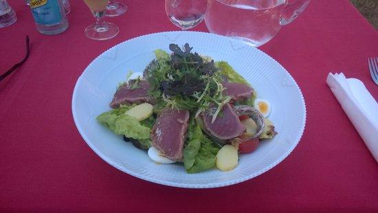 Brondums Hotel Restaurant: Salad for lunch