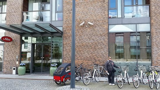 Adina Apartment Hotels Copenhagen : Entrada do Andima